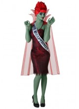 Womens Miss Dead Receptionist Plus Size Costume