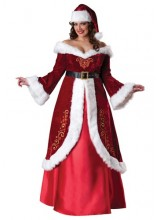 Womens Mrs. St. Nick Plus Size Costume