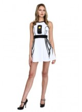 Womens Portal I Am GlaDOS Skater Dress Plus Size Costume