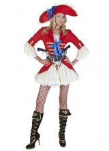 Womens Sexy Captain Blackheart Plus Size Costume