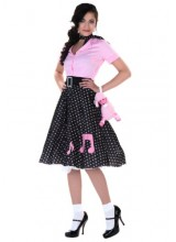 Womens Sock Hop Cutie Plus Size Costume