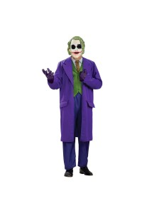 Batman Dark Knight The Joker Deluxe Mens Plus Size Costume