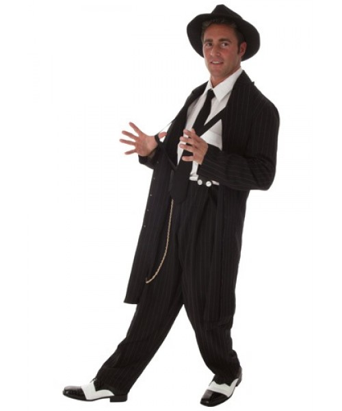 Mens Zoot Suit Plus Size Costume
