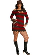 A Nightmare On Elm Street Miss Krueger Womens Plus Size Costume