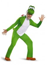 Mens Deluxe Yoshi Plus Size Costume