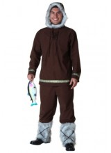 Mens Eskimo Boy Plus Size Costume