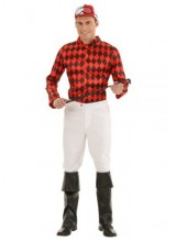 Mens Horse Jockey Plus Size Costume