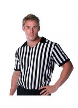 Mens Referee Shirt Plus Size Costume