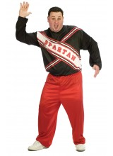 SNL Spartan Cheerleader Male Mens Plus Size Costume