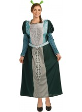 Shrek Forever After Fiona Womens Plus Size Costume