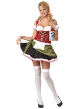 Womens Bar Maid Plus Size Costume
