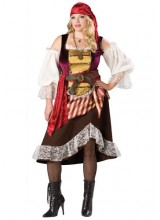 Womens Deckhand Darlin' Pirate Plus Size Costume