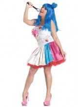 Womens Katy Perry California Candy Girl Plus Size Costume